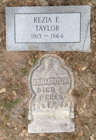 TAYLOR, KEZIA E. - Frio County, Texas | KEZIA E. TAYLOR - Texas Gravestone Photos