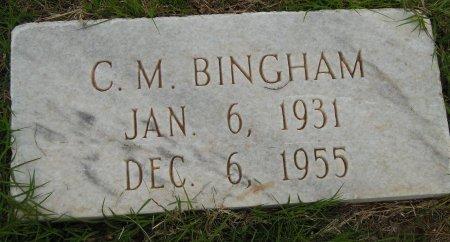 BINGHAM, C. M. - Gaines County, Texas | C. M. BINGHAM - Texas Gravestone Photos