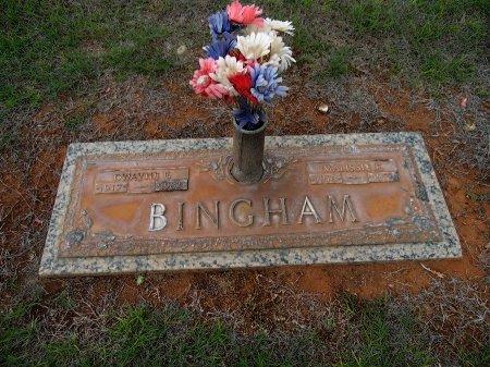 BINGHAM, DWAYNE E - Gaines County, Texas   DWAYNE E BINGHAM - Texas Gravestone Photos
