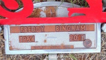 BINGHAM, FREDDY - Gaines County, Texas   FREDDY BINGHAM - Texas Gravestone Photos