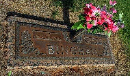 BINGHAM, LOUISE E - Gaines County, Texas   LOUISE E BINGHAM - Texas Gravestone Photos