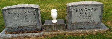 BINGHAM, EVELYN ANNIE - Gaines County, Texas | EVELYN ANNIE BINGHAM - Texas Gravestone Photos