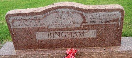 BINGHAM, MAMIE MAURINE - Gaines County, Texas | MAMIE MAURINE BINGHAM - Texas Gravestone Photos