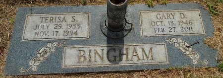 BINGHAM, GARY D - Gaines County, Texas | GARY D BINGHAM - Texas Gravestone Photos
