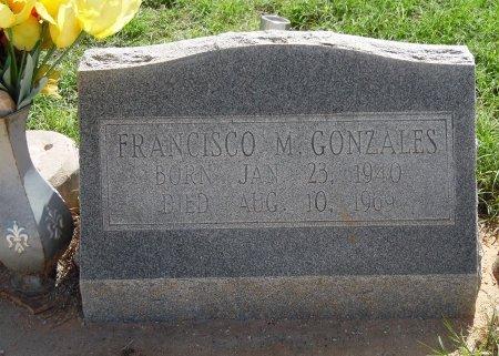 GONZALES, FRANCISCO M - Gaines County, Texas | FRANCISCO M GONZALES - Texas Gravestone Photos