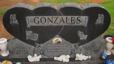 GONZALES, GENOVEVO V. - Gaines County, Texas | GENOVEVO V. GONZALES - Texas Gravestone Photos