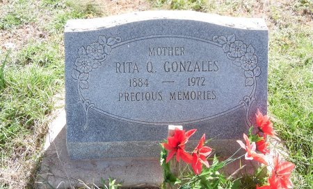GONZALES, RITA Q - Gaines County, Texas | RITA Q GONZALES - Texas Gravestone Photos