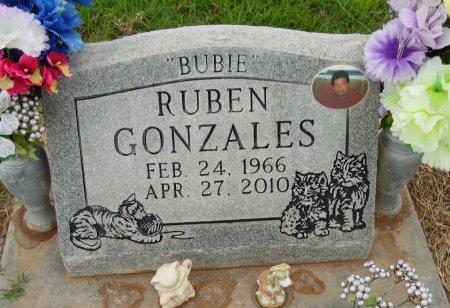"GONZALES, RUBEN ""BUBIE"" - Gaines County, Texas | RUBEN ""BUBIE"" GONZALES - Texas Gravestone Photos"