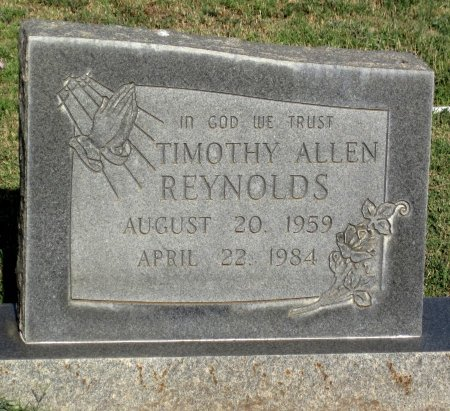 REYNOLDS, TIMOTHY ALLEN - Gaines County, Texas | TIMOTHY ALLEN REYNOLDS - Texas Gravestone Photos