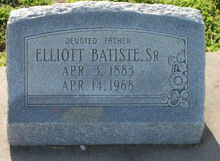 BATISTE, SR., ELLIOTT - Galveston County, Texas | ELLIOTT BATISTE, SR. - Texas Gravestone Photos