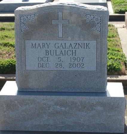 BULAICH, MARY - Galveston County, Texas | MARY BULAICH - Texas Gravestone Photos