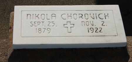 CHOROVICH, NIKOLA - Galveston County, Texas | NIKOLA CHOROVICH - Texas Gravestone Photos
