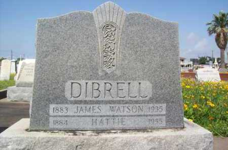 MOORS DIBRELL, HATTIE - Galveston County, Texas | HATTIE MOORS DIBRELL - Texas Gravestone Photos