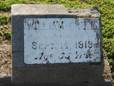GREEN, WILLIAM - Galveston County, Texas | WILLIAM GREEN - Texas Gravestone Photos