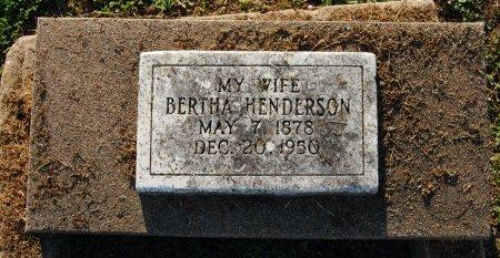 SMITH HENDERSON, BERTHA - Galveston County, Texas | BERTHA SMITH HENDERSON - Texas Gravestone Photos