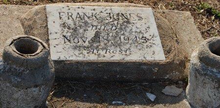 JONES, FRANK - Galveston County, Texas   FRANK JONES - Texas Gravestone Photos