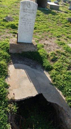 SHANKLIN (VETERAN WWI), LEONARD - Galveston County, Texas | LEONARD SHANKLIN (VETERAN WWI) - Texas Gravestone Photos