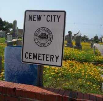 SIGN, CEMETERY - Galveston County, Texas | CEMETERY SIGN - Texas Gravestone Photos
