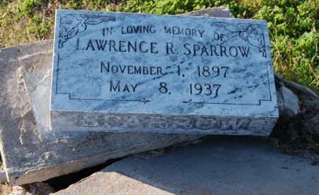 SPARROW, LAWRENCE R. - Galveston County, Texas | LAWRENCE R. SPARROW - Texas Gravestone Photos
