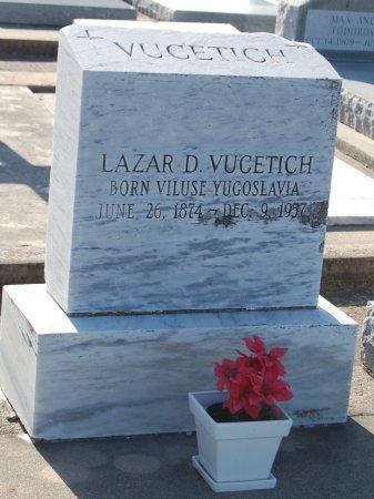 VUCETICH, LAZAR D - Galveston County, Texas | LAZAR D VUCETICH - Texas Gravestone Photos