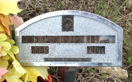AHRLETT, ELLA L. - Gillespie County, Texas   ELLA L. AHRLETT - Texas Gravestone Photos