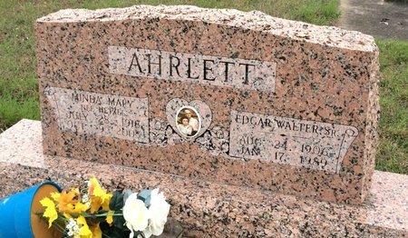 AHRLETT, MINDA MARY - Gillespie County, Texas | MINDA MARY AHRLETT - Texas Gravestone Photos
