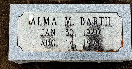 BARTH, ALMA M. - Gillespie County, Texas | ALMA M. BARTH - Texas Gravestone Photos