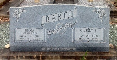 BARTH, EMMA - Gillespie County, Texas | EMMA BARTH - Texas Gravestone Photos