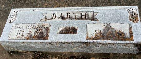BARTH, CARL - Gillespie County, Texas | CARL BARTH - Texas Gravestone Photos