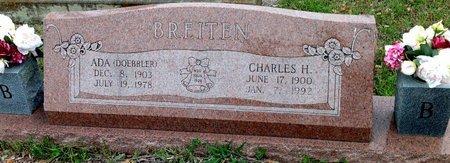 DOEBBLER BREITEN, ADA - Gillespie County, Texas   ADA DOEBBLER BREITEN - Texas Gravestone Photos