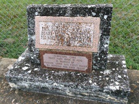 *CEMETERY MEMORIAL,  - Gillespie County, Texas |  *CEMETERY MEMORIAL - Texas Gravestone Photos