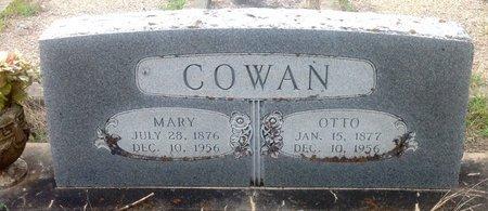 COWAN, MARY - Gillespie County, Texas | MARY COWAN - Texas Gravestone Photos