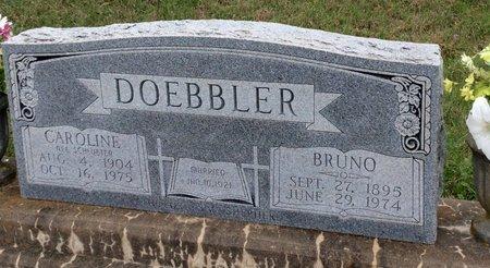 SCHLUETER DOEBBLER, CAROLINE - Gillespie County, Texas | CAROLINE SCHLUETER DOEBBLER - Texas Gravestone Photos