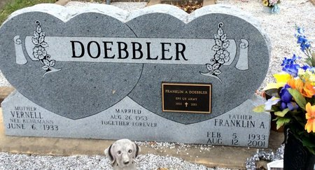 DOEBBLER, FRANKLIN A. - Gillespie County, Texas | FRANKLIN A. DOEBBLER - Texas Gravestone Photos