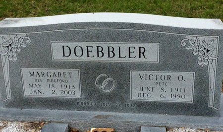 DOEBBLER, MARGARET - Gillespie County, Texas | MARGARET DOEBBLER - Texas Gravestone Photos