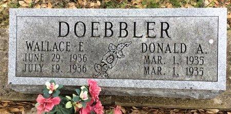 DOEBBLER, DONALD A. - Gillespie County, Texas | DONALD A. DOEBBLER - Texas Gravestone Photos