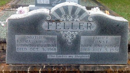 KIRCHHOFF FELLER, EMMA - Gillespie County, Texas | EMMA KIRCHHOFF FELLER - Texas Gravestone Photos