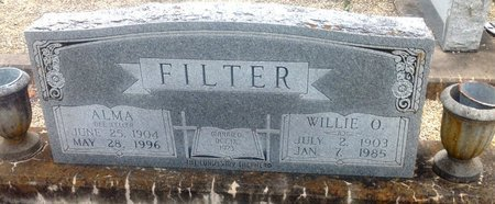 FELLER FILTER, ALMA - Gillespie County, Texas | ALMA FELLER FILTER - Texas Gravestone Photos