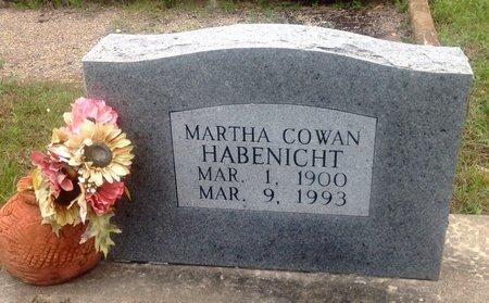 HABENICHT, MARTHA - Gillespie County, Texas | MARTHA HABENICHT - Texas Gravestone Photos