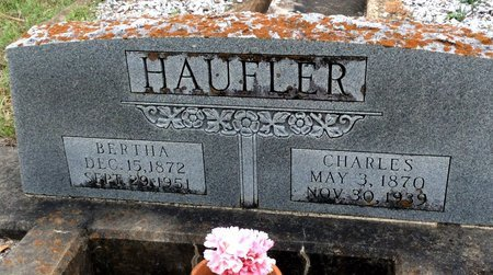 HAUFLER, BERTHA - Gillespie County, Texas | BERTHA HAUFLER - Texas Gravestone Photos