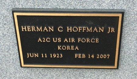 HOFFMAN, JR (VETERAN KOR), HERMAN C - Gillespie County, Texas | HERMAN C HOFFMAN, JR (VETERAN KOR) - Texas Gravestone Photos