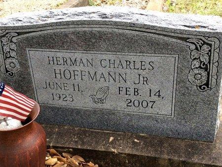 HOFFMANN, JR., HERMAN CHARLES - Gillespie County, Texas | HERMAN CHARLES HOFFMANN, JR. - Texas Gravestone Photos