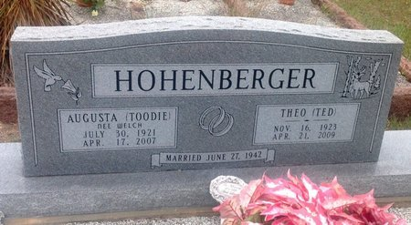 """HOHENBERGER, THEO """"TED"""" - Gillespie County, Texas 