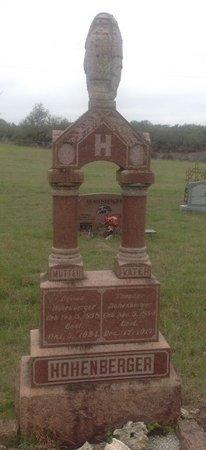 HOHENBERGER, EMMA - Gillespie County, Texas | EMMA HOHENBERGER - Texas Gravestone Photos