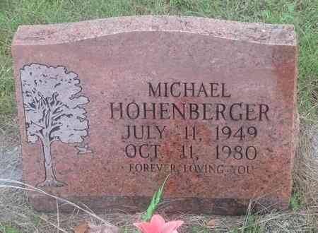 HOHENBERGER, MICHAEL - Gillespie County, Texas | MICHAEL HOHENBERGER - Texas Gravestone Photos
