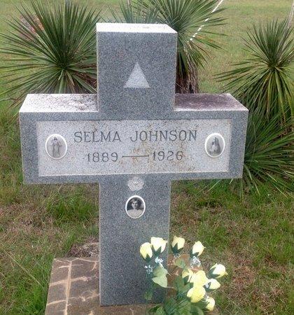 JOHNSON, SELMA - Gillespie County, Texas | SELMA JOHNSON - Texas Gravestone Photos