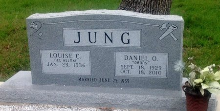 JUNG, DANIEL O. - Gillespie County, Texas | DANIEL O. JUNG - Texas Gravestone Photos