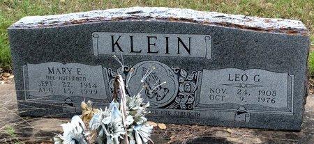 KLEIN, LEO G. - Gillespie County, Texas | LEO G. KLEIN - Texas Gravestone Photos