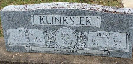 KLINKSIEK, ELSIE E. - Gillespie County, Texas | ELSIE E. KLINKSIEK - Texas Gravestone Photos