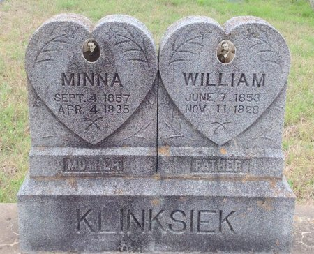 KLINKSIEK, WILLIAM - Gillespie County, Texas | WILLIAM KLINKSIEK - Texas Gravestone Photos